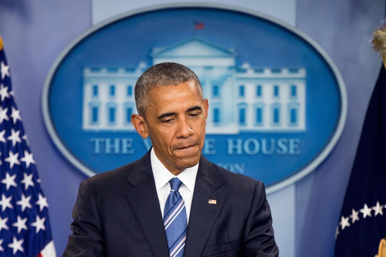 El presidente Barack Obama mostró su malestar con la decisión de la Corte Suprema y criticó a los republicanos por no nombrar a un juez para la vacante en el tribunal. (AP/ANDREW HARNIK)