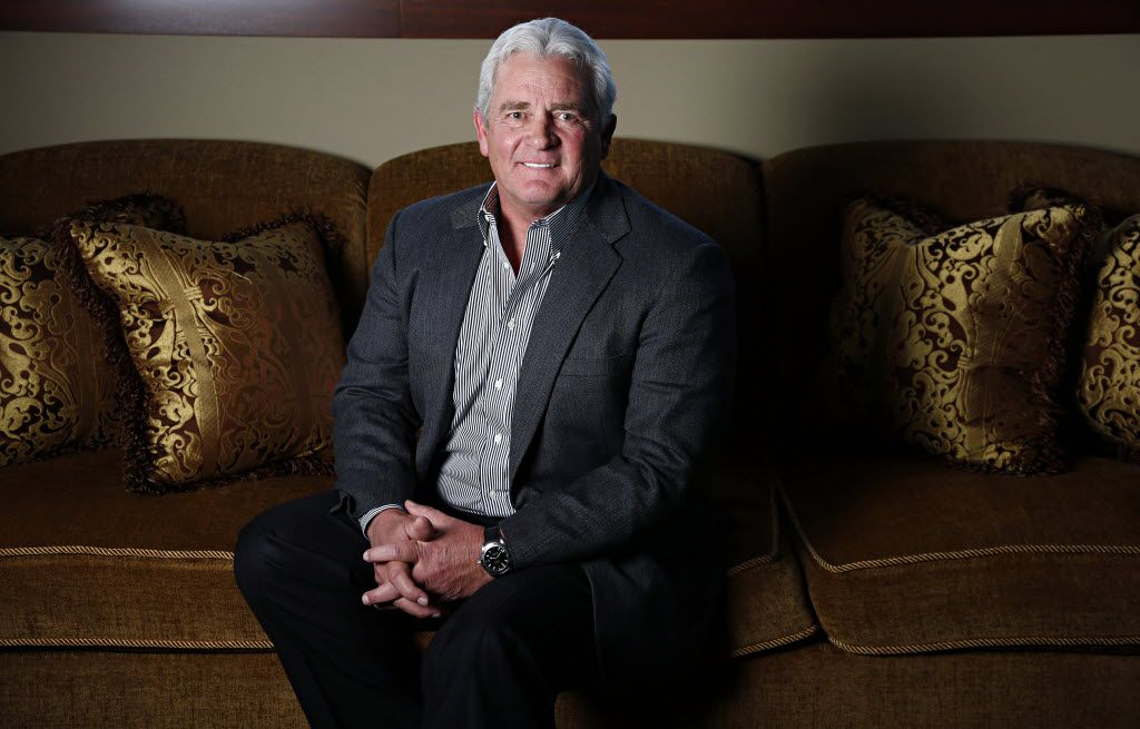 Kelcy Warren, chairman and chief executive officer of ETE at his office in Dallas in a 2014 file photo(G.J. McCarthy/The Dallas Morning News)