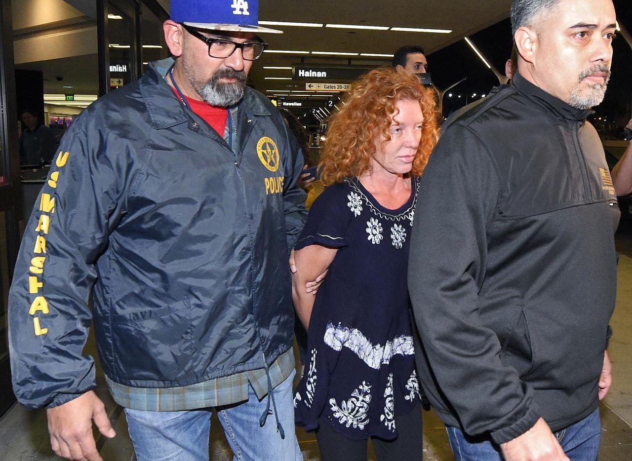 Tonya Couch fue deportada desde México a Estados Unidos. Ahora se encuentra en Los Ángeles, de donde sería extraditada a Texas. (AP/MARK J. TERRILL)