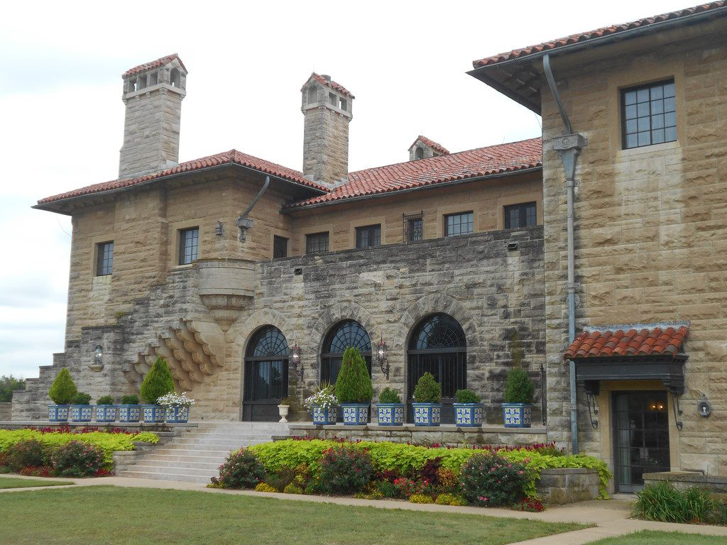 E.W. Marland built his Marland Mansion in 1928, and today the 43,500-square-foot home is open for public tours.