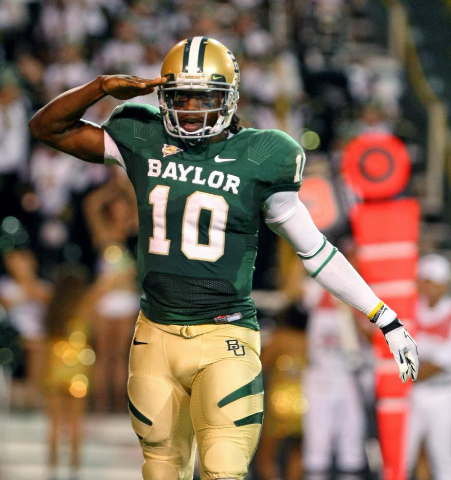new product 0e3f0 7600b Baylor's Robert Griffin III relaxed, confident during ...