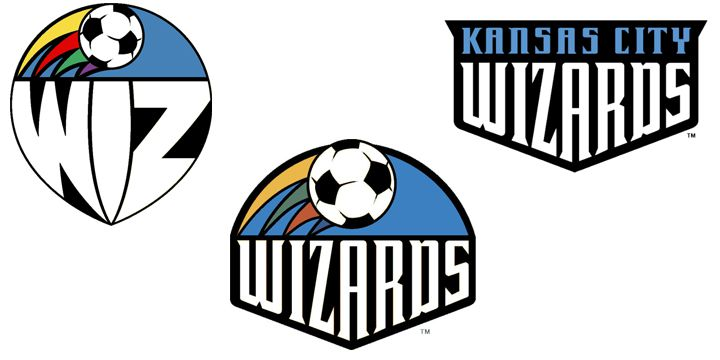 Kansas City Wizards logos