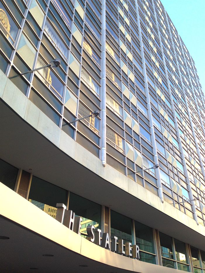 The Statler Hotel reopens almost 17 years after the building closed.