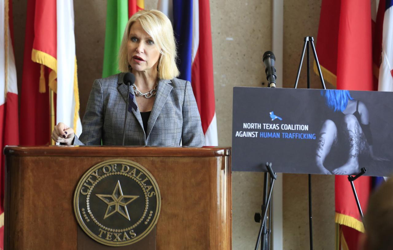 La fiscal de distrito Susan Hawk estará en un foro comunitario bilingüe en Far East Dallas. (DMN/DAVID WOO)