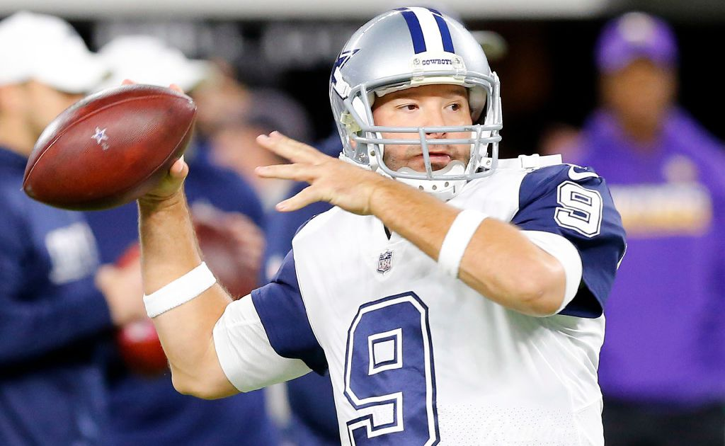 Where does Tony Romo rank among the best QBs without a Super Bowl ring?