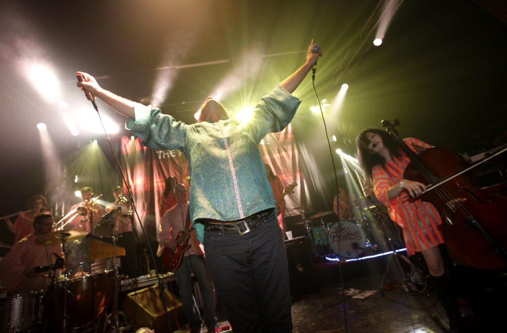 The Polyphonic Spree performs at Granada Theater in Dallas, TX, on Oct. 17, 2015. (Jason Janik/Special Contributor)