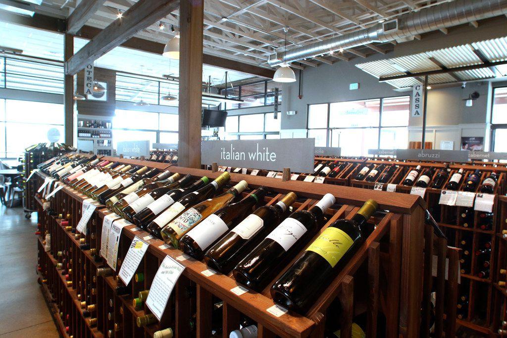 CiboDivino has a wide selection of Italian wines.