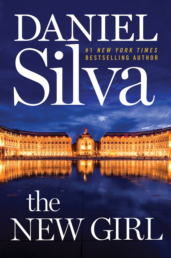 Daniel Silva's 22nd novel, The New Girl, features his popular hero Gabriel Allon, an Israeli spy who also works as an art restorer.