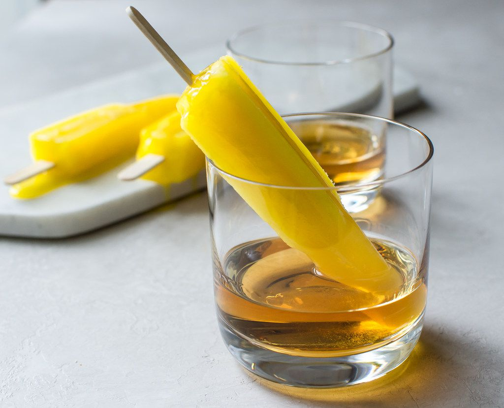 """Bourbon Banana """"Pop"""" for Father's Day"""