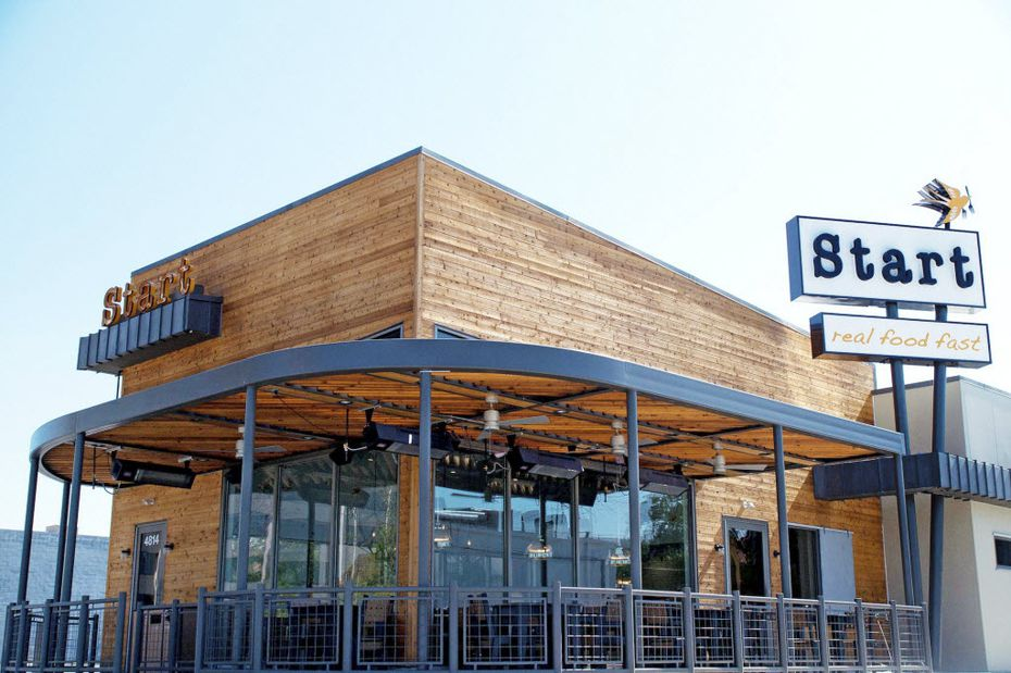 The original Start is located on Greenville Avenue in Dallas. Each restaurant offers order-at-the-counter service or drive-thru.
