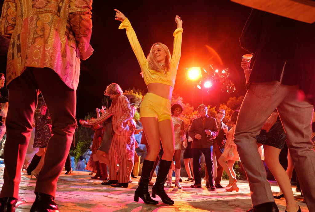 Margot Robbie stars in Once Upon a Time ... in Hollywood.