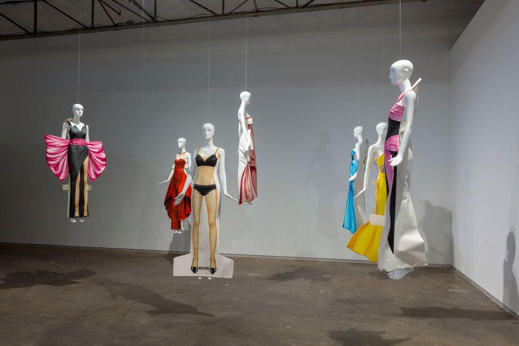 "Jeremy Scott, Installation View of ""VIVA AVANT GARDE: A Jeremy Scott Retrospective"" at Dallas Contemporary"