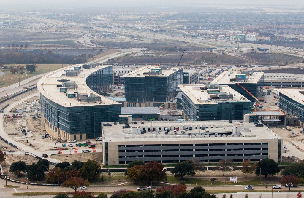 More than 2.5 million hours of work have gone into the site. (Ashley Landis/The Dallas Morning News)