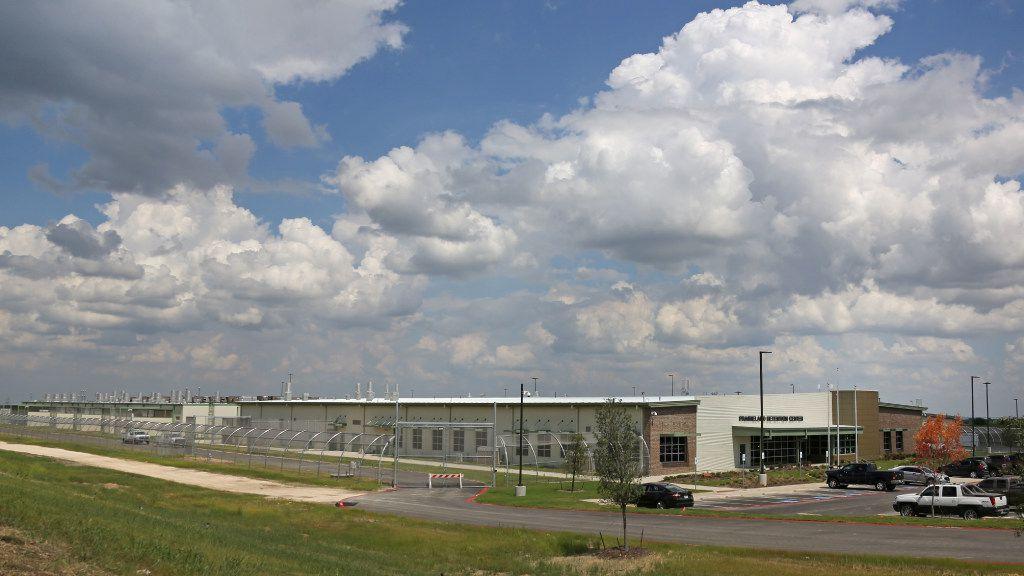 Praireland Detention Center opened in rural Alvarado in January, 2017. (Louis De Luca/The Dallas Morning News)