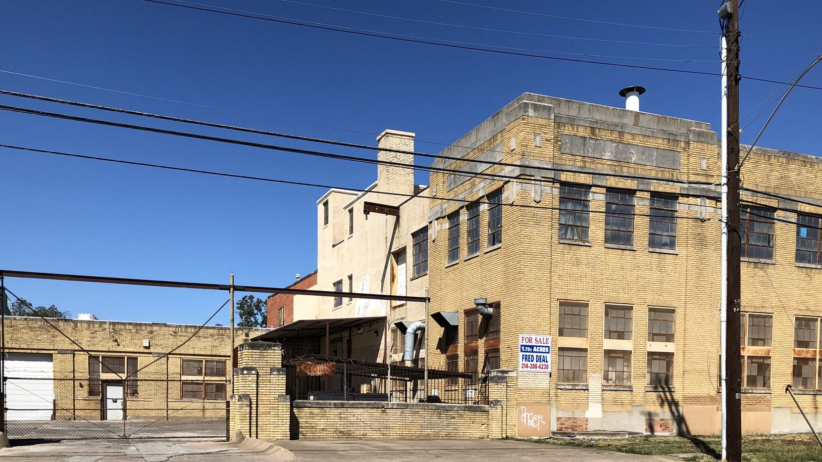 The Carroll Avenue building was constructed in 1928,