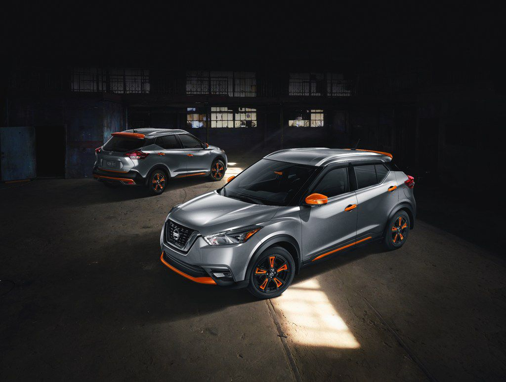The new 2018 Nissan Kicks, with its roots tracing back to Nissan's Rio de Janeiro design studio's Kicks Concept car, is also all about style, color and personalization.