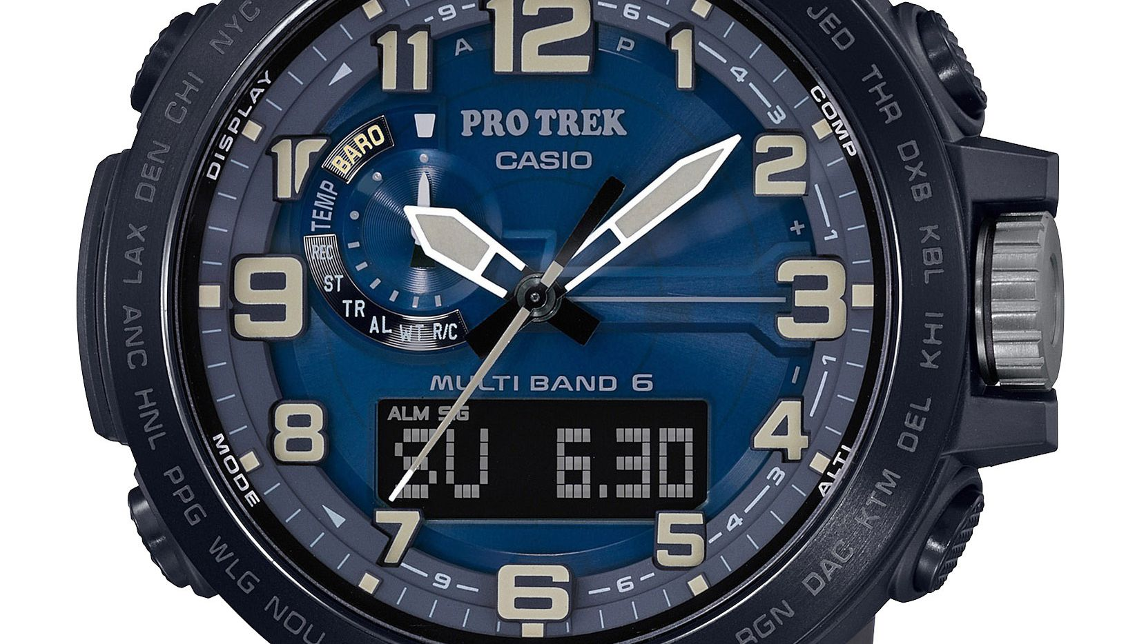 Casio's Pro Trek PRW6600Y-2 packs a lot into a small package