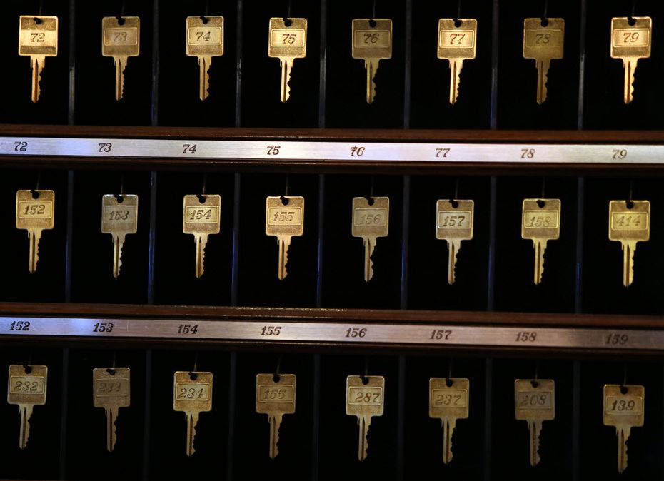 Old style keys are being rendered obsolete. (Louis DeLuca/The Dallas Morning News)