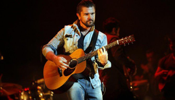 Juanes durante su última presentación en Dallas en octubre del 2014. Dallas no está, por lo pronto, en la gira del cantante colombiano. (ESPECIAL PARA AL DÍA/BEN TORRES)