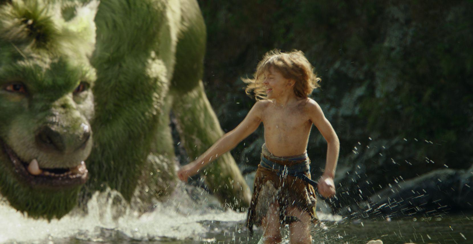 Oakes Fegley en la película Pete's Dragon. Fotos AP