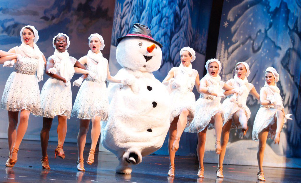 Dallas Summer Musicals will present the cast of 'Broadway Christmas Spectacular' at Fair Park Music Hall Dec. 6-18, 2016.