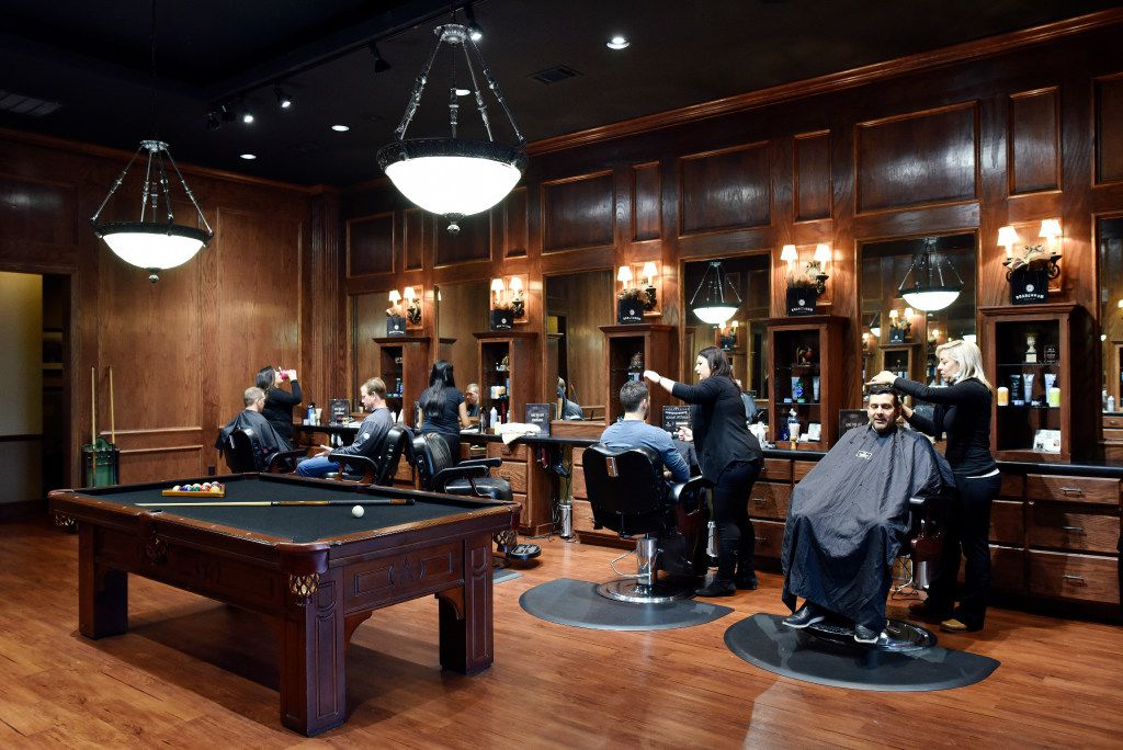 The Boardroom salon for men at the Lovers Lane location in Dallas on Dec. 09, 2016. Ben Torres/Special Contributor