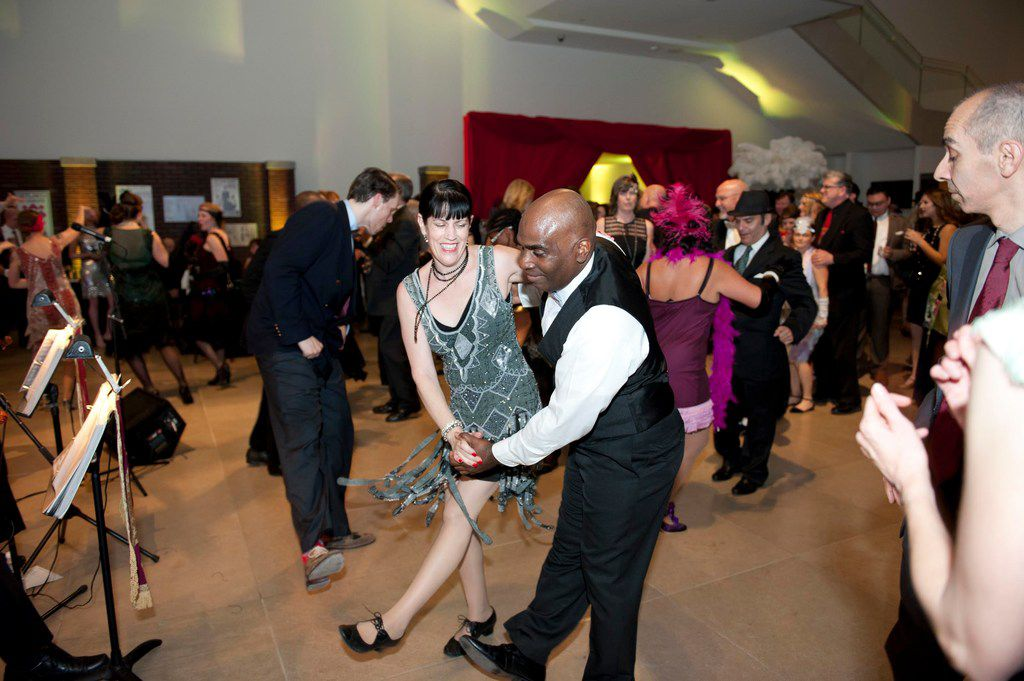Dancers got into the Roaring '20s spirit at the 2017 Speakeasy party to benefit the Dallas Museum of Art.