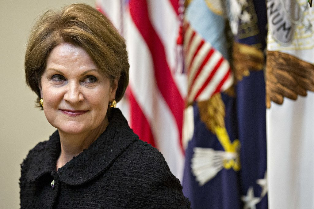 Marillyn Hewson, president and CEO of Lockheed Martin Corp., said she remains optimistic that Congress will revamp the tax code.