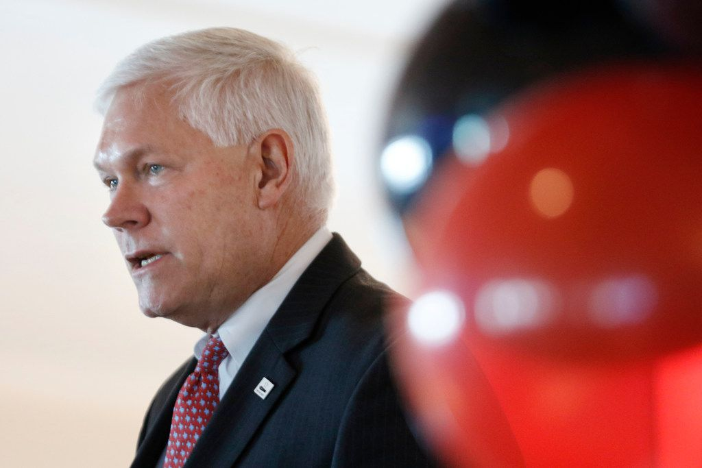 Rep. Pete Sessions, R-Dallas, faces steep competition from a swath of well-funded Democrats.