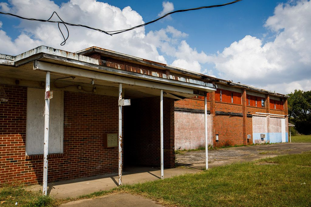 What remains of Melissa Pierce School, built for Joppa students in the early 1950s