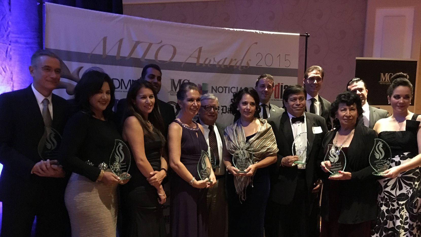 Los galardonados de los Premios MITO 2015. (KARINA RAMÍREZ/Al DÍA)