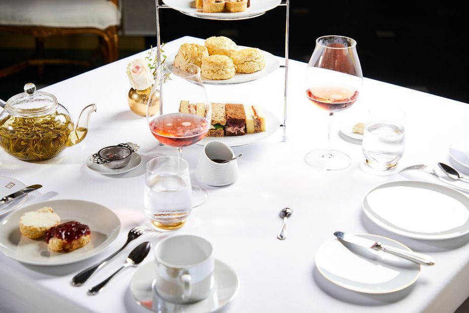 The French Room at Adolphus hotel is offering Afternoon Tea for Mother's Day.