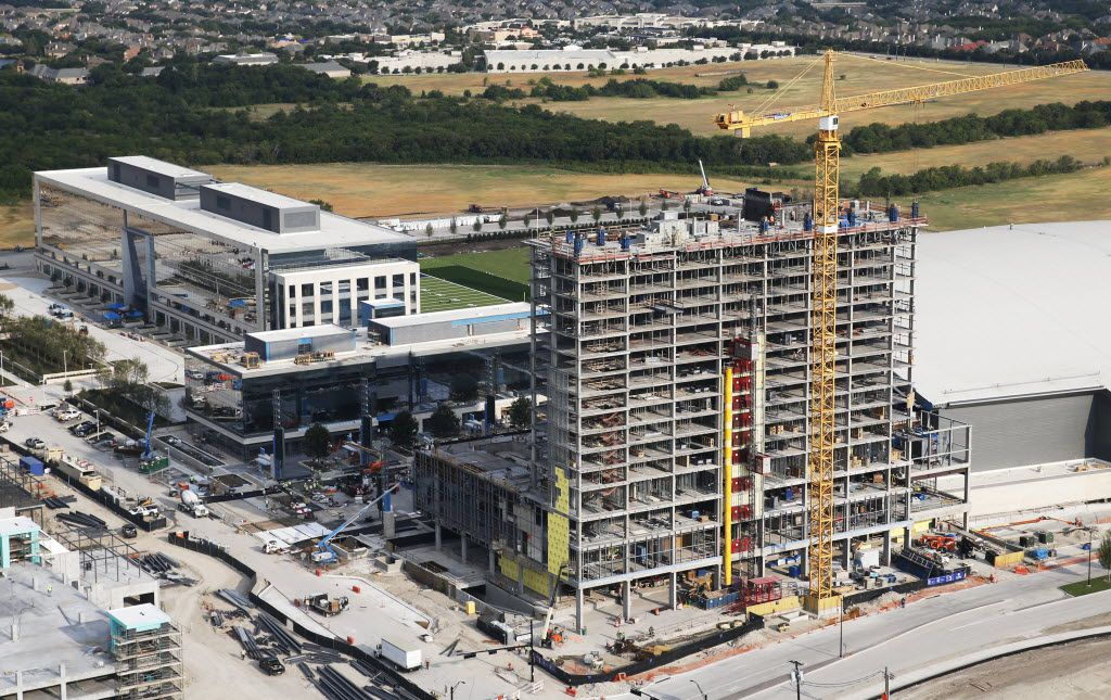 The Omni Frisco Hotel at The Star in Frisco on Wednesday, July 27, 2016. The hotel is a 16 story, 300 room hotel. The Star, a joint project with the Dallas Cowboys and the City of Frisco is scheduled to open in August. (Vernon Bryant/The Dallas Morning News)