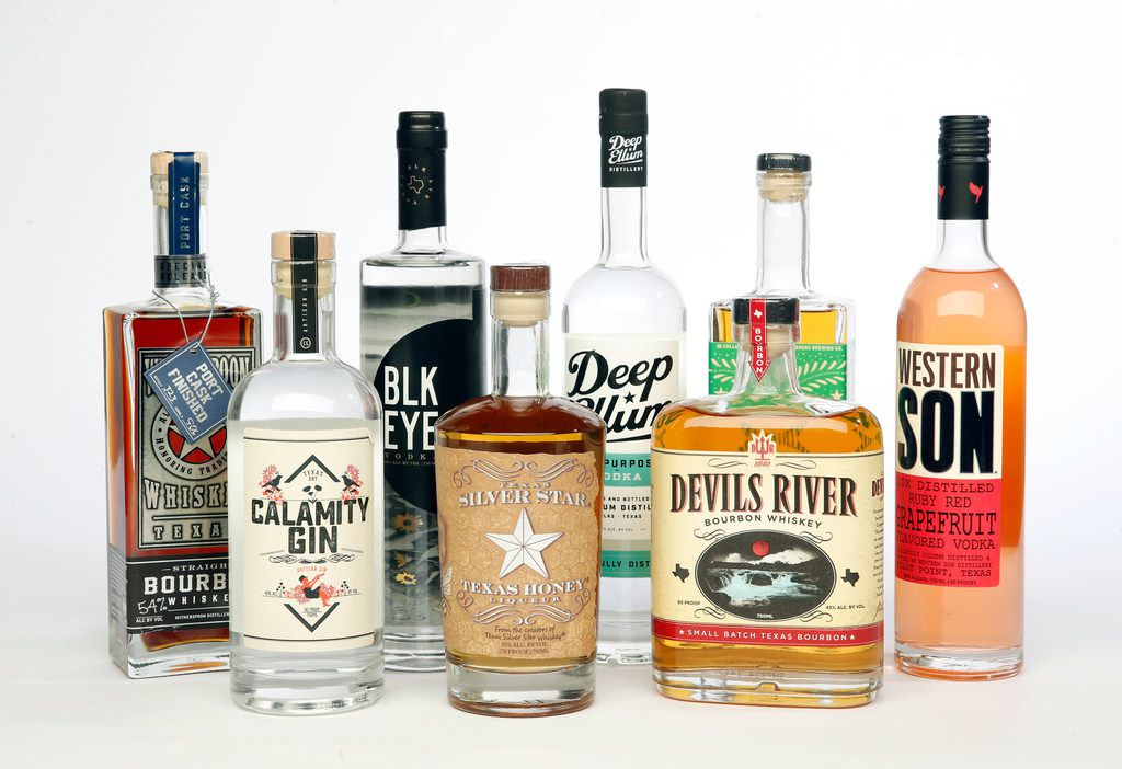 These top-shelf spirits from 8 local distilleries have