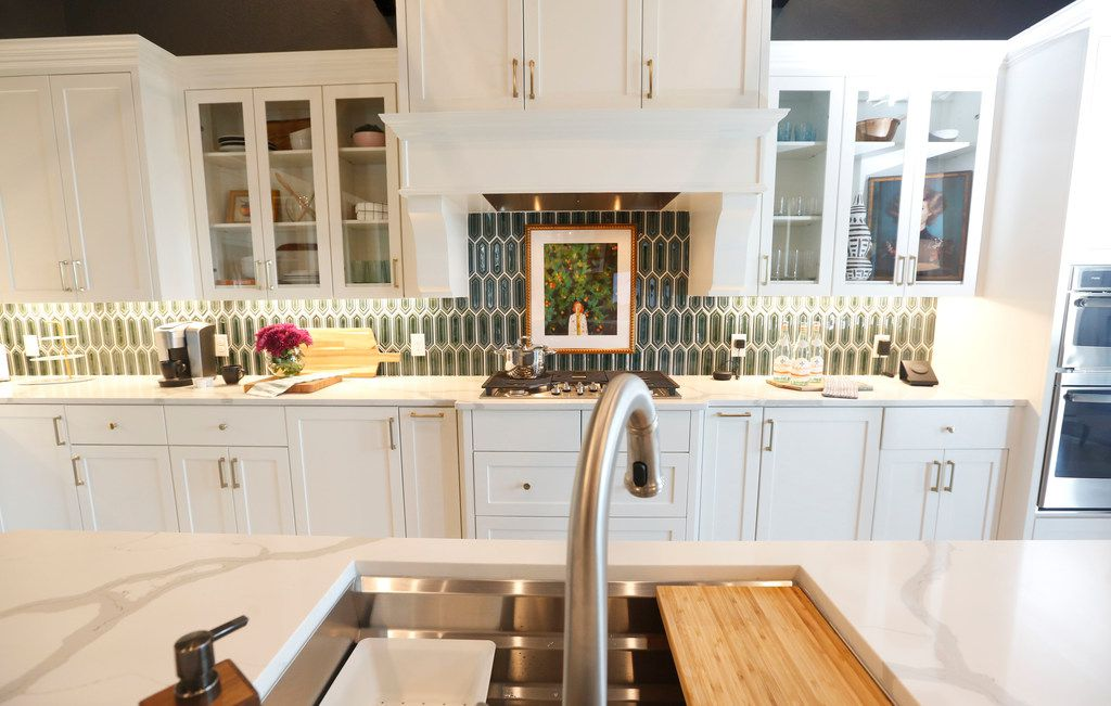 The center of the house is here, in HGTV's Smart Home kitchen.