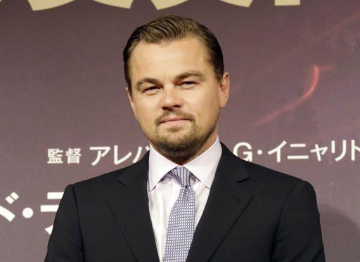 Leonardo DiCaprio tuvo un percance automovilístico en Long Island. Foto AP