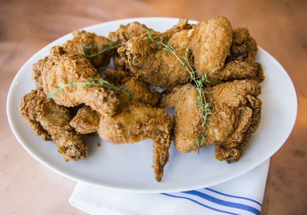 French fried chicken at Street's Fine Chicken on Friday, May 6, 2016 on Cedar Springs in Dallas. The restaurant is owned by Gene Street, cofounder of the Black Eyed Pea restaurants, and his family.