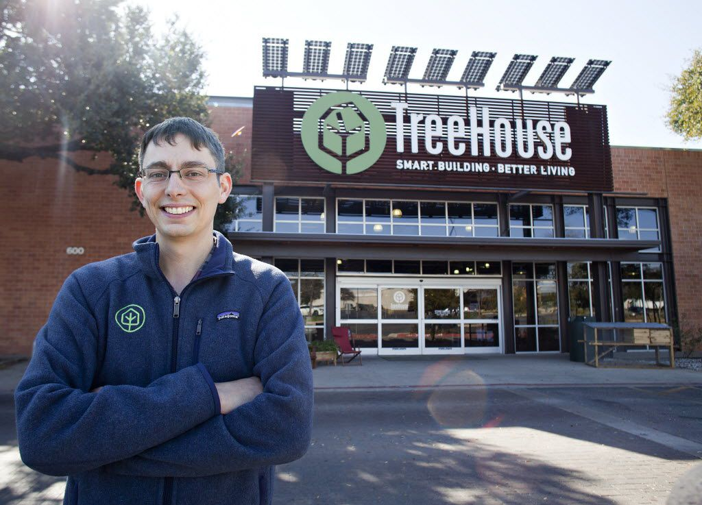 TreeHouse CEO, president and co-founder Jason Ballard at TreeHouse in Austin, Texas on February 15, 2016.  (Thao Nguyen/Special Contributor)