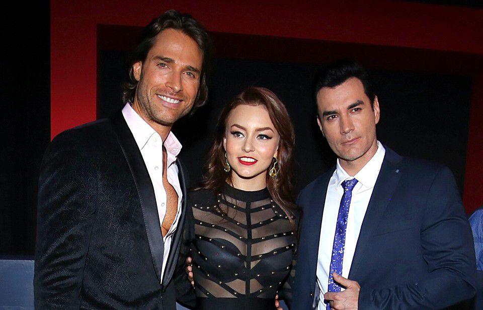 """Sebastián Rulli, Angelique Boyer y David Zepeda son los protagonistas de la telenovela """"Tres Veces Ana"""", /AGENCIA REFORMA"""