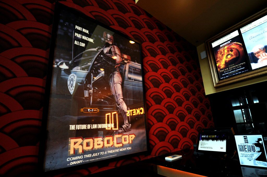 The cinema pays tribute to a locally filmed classic RoboCop.