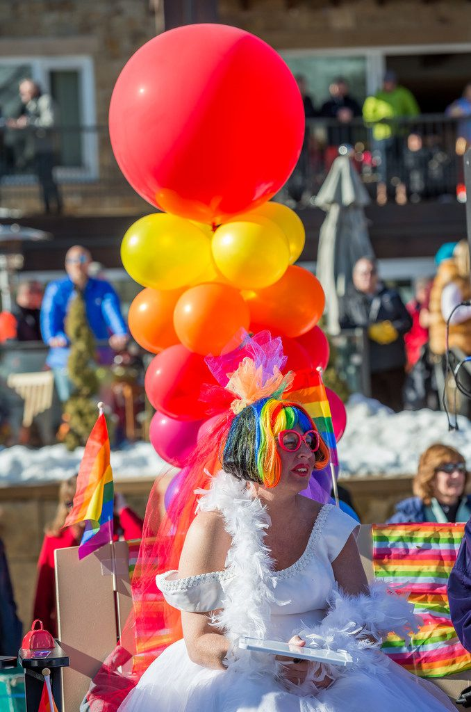 Aspen Gay Ski Week is the oldest annual pride party on the piste.