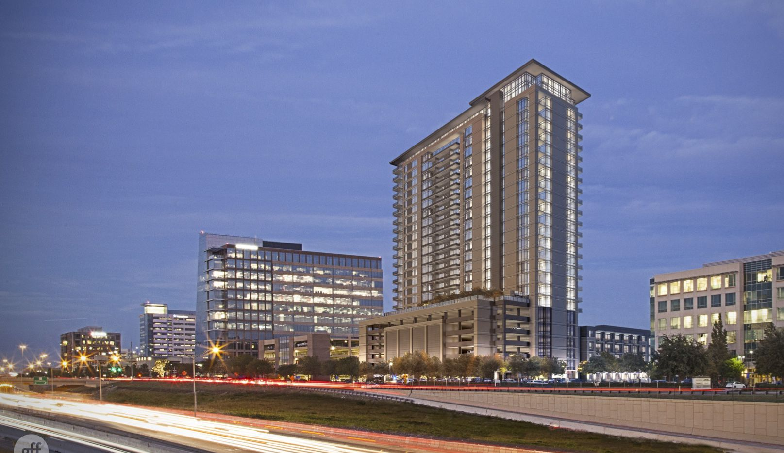 High Street Residential and Principal Real Estate are starting construction this month on the 25-story Plano tower.
