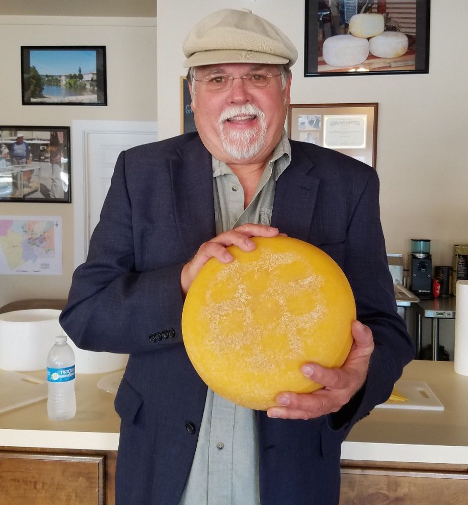 Dave Eagle has been making cheese, first in Granbury and now in his shop in nearby Lipan, since 2009.