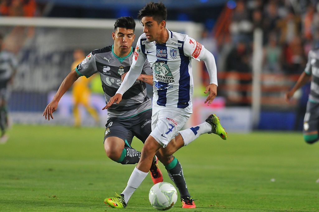 Pachuca y La Fiera igualaron 1-1 el jueves en León. Foto GETTY IMAGES