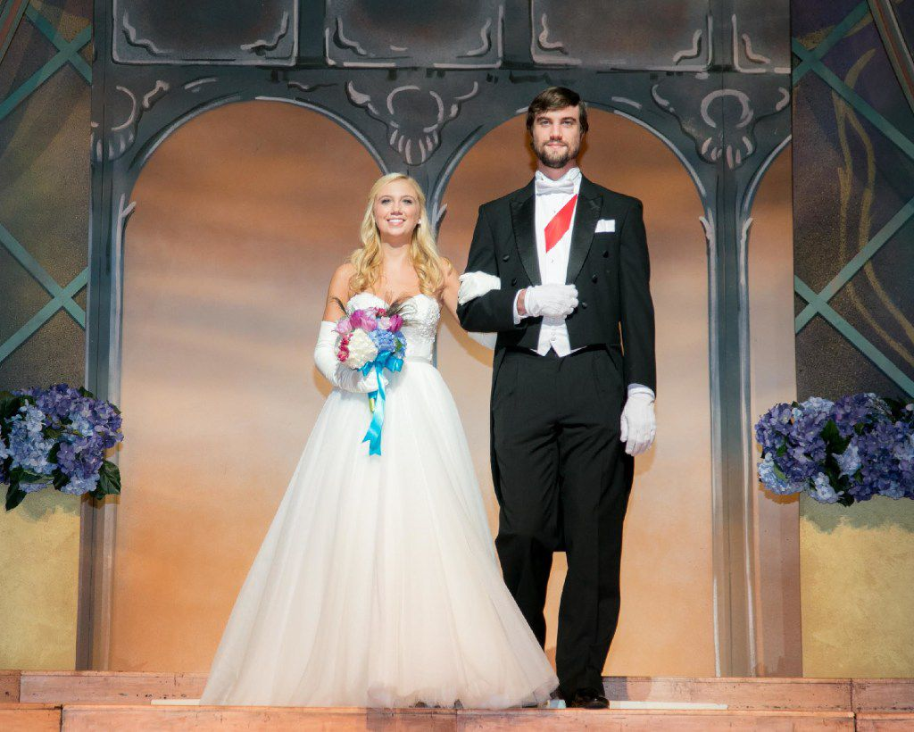 Debutante Abby Loncar and Tommy McNamara at the 31st Annual Dallas Symphony Orchestra League Presentation Ball.