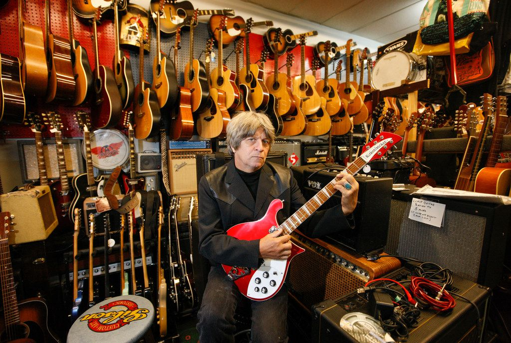 John Gasperik, owner of Shake Rag Music, is finally serious about selling his store three years after he first considered it.