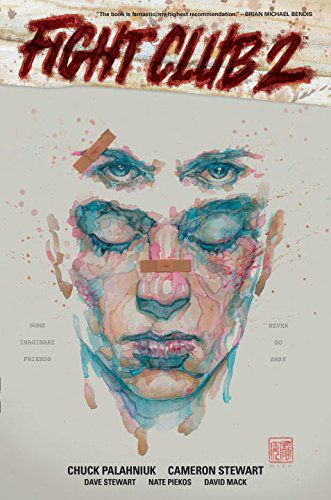 The cover art for the collected edition of Fight Club 2.