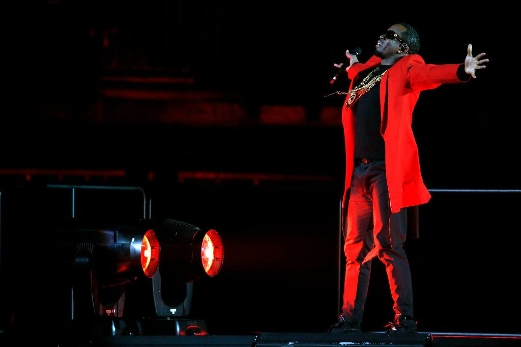 Puff Daddy (Sean Combs) opens the Bad Boy Family Reunion Tour at American Airlines Center in Dallas, TX Sept. 14, 2016.