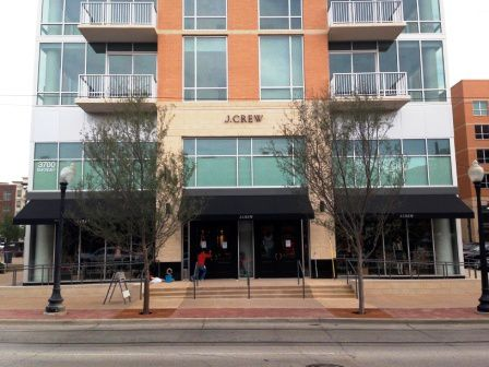 J. Crew store in West Village in Dallas. (file photo)