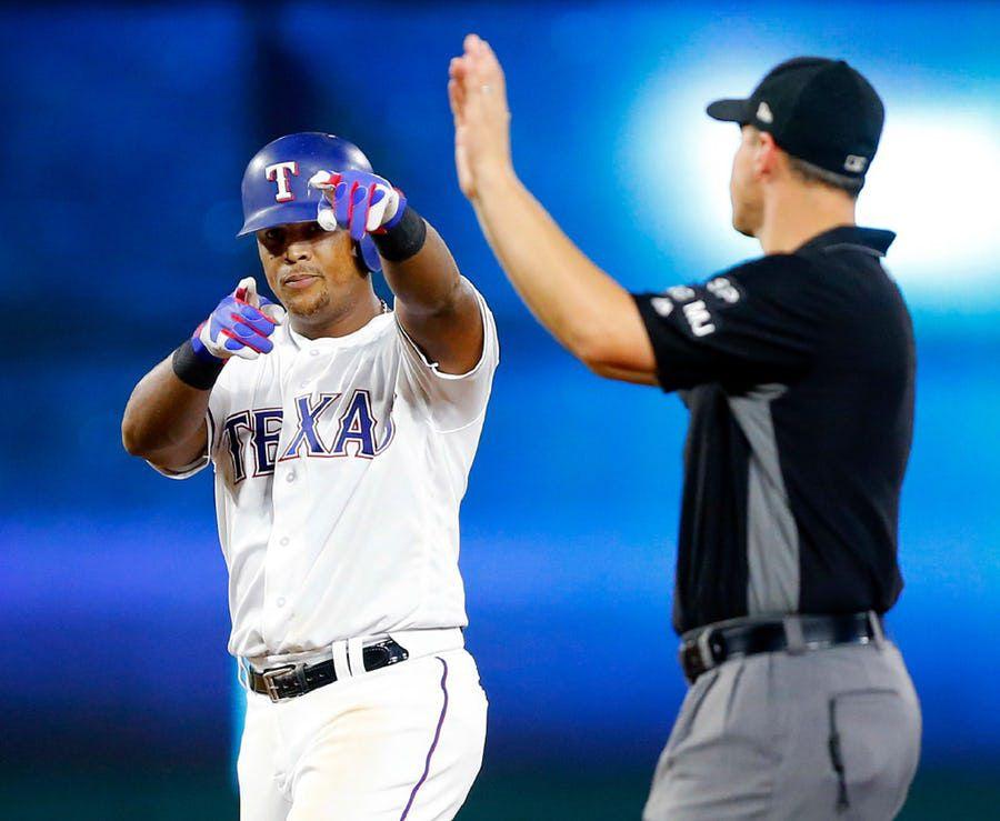 Adrián Beltré de los Texas Rangers llegó a 3,055 imparables, rompiendo el empate que tenía con el panameño Rod Carew. Foto DMN